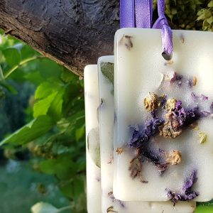 Scented wax tablets